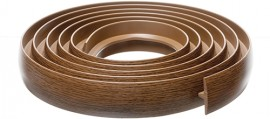Bendable Coverstrip 3m (10ft) Rustic Oak/Walnut