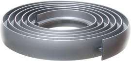 Bendable Coverstrip 3m (10ft) Silver