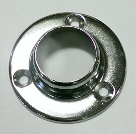 Rothley Pressed Steel Sockets (2) Chrome 25mm